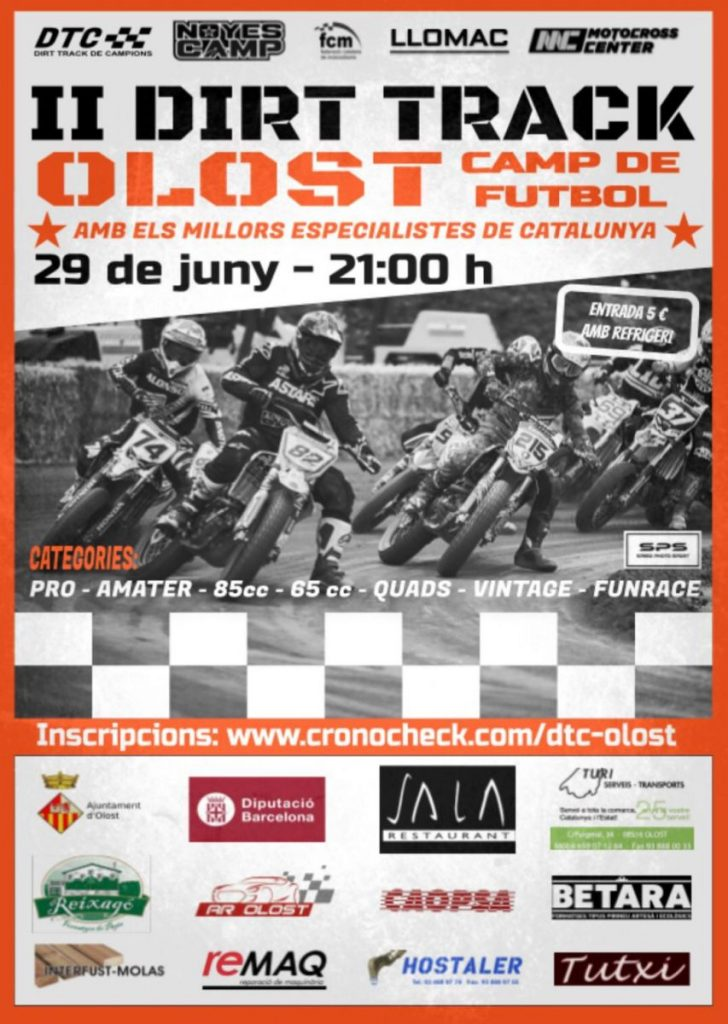 2n Dirt Track Olost